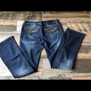 Miss Me jeans sz 31 boot cut excellent condition